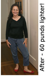 Gail lost 60 pounds